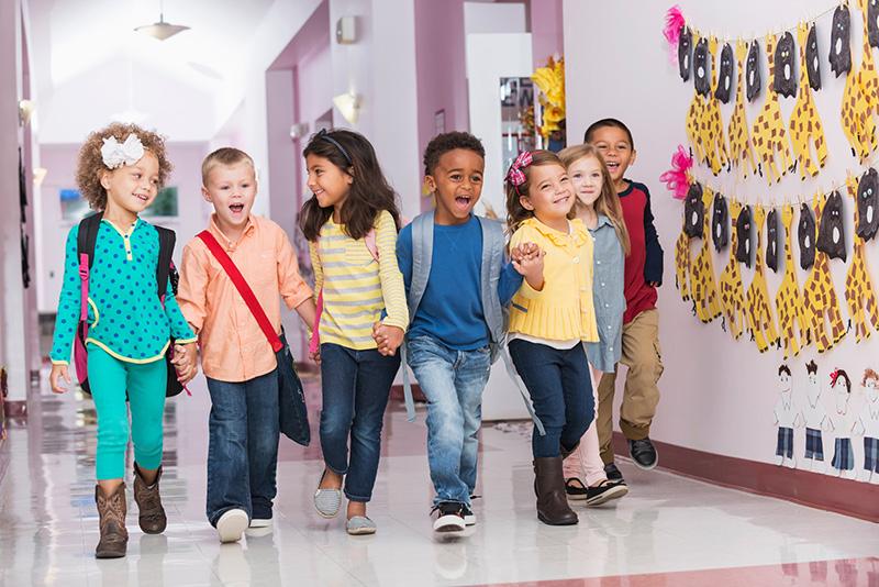 Imagen de asma 2 - Niños en la escuela