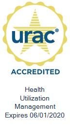 U.R.A.C. Case Mangement Logo with link to external U.R.A.C site